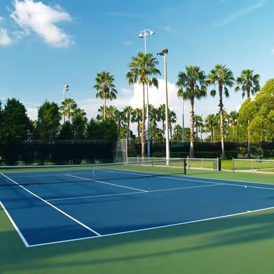 Outdoor tennis in Marathon Florida