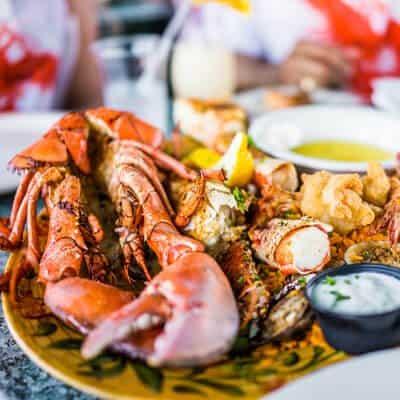 Seafood in Cedar Key