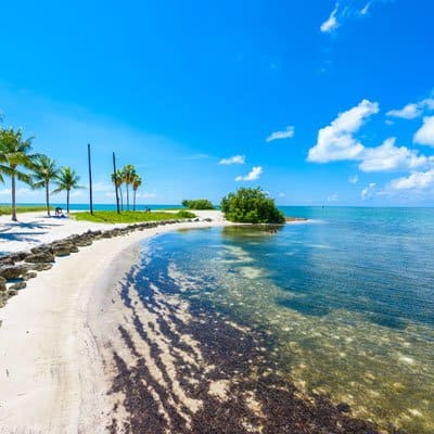 Marathon Florida coastline