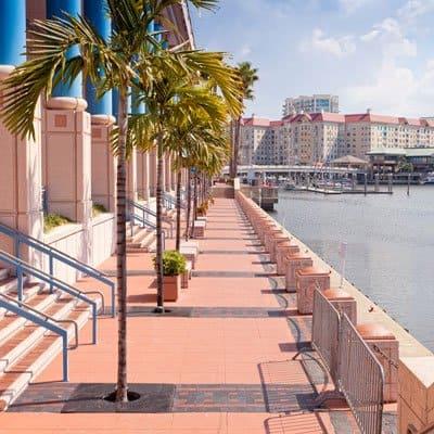 Tampa Florida tourist center