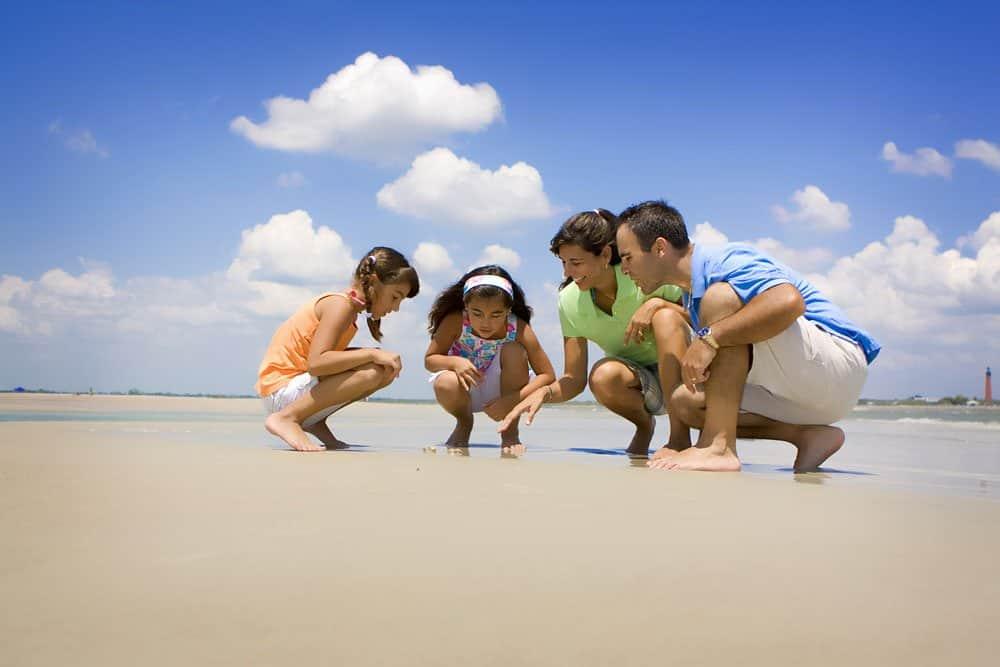 Florida family beach