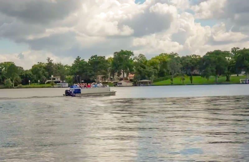 Scenic Boat Tour enjoy florida