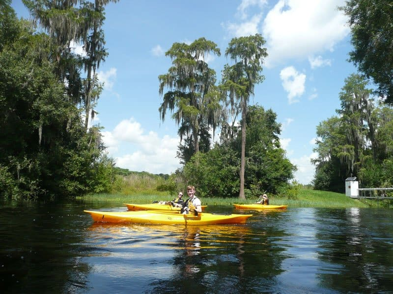 florida kayaking enjoy florida