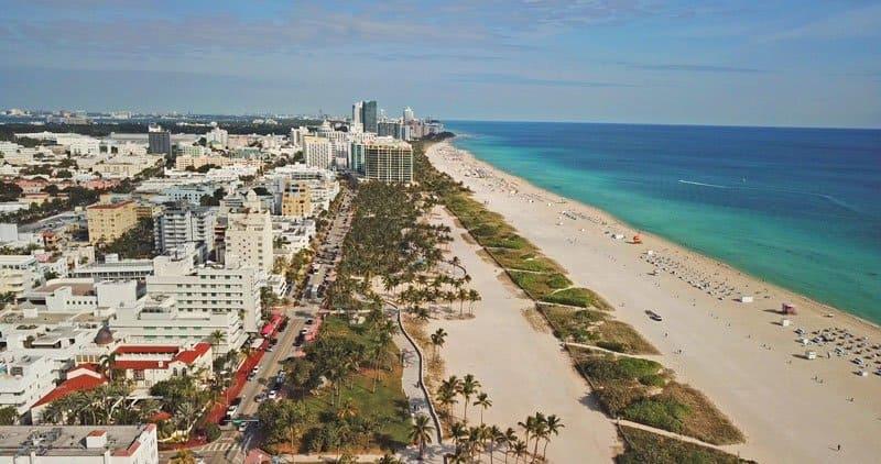miami coastline Miami