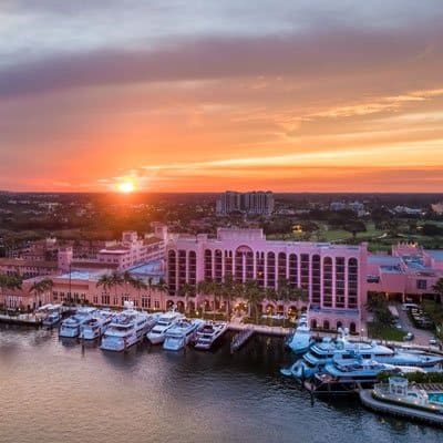 Yacht Club at Boca Raton Resort Marina Sunset Boca Raton Holidays