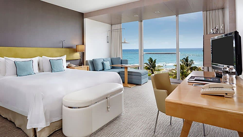 boca raton resort bedroom  in Fort Lauderdale