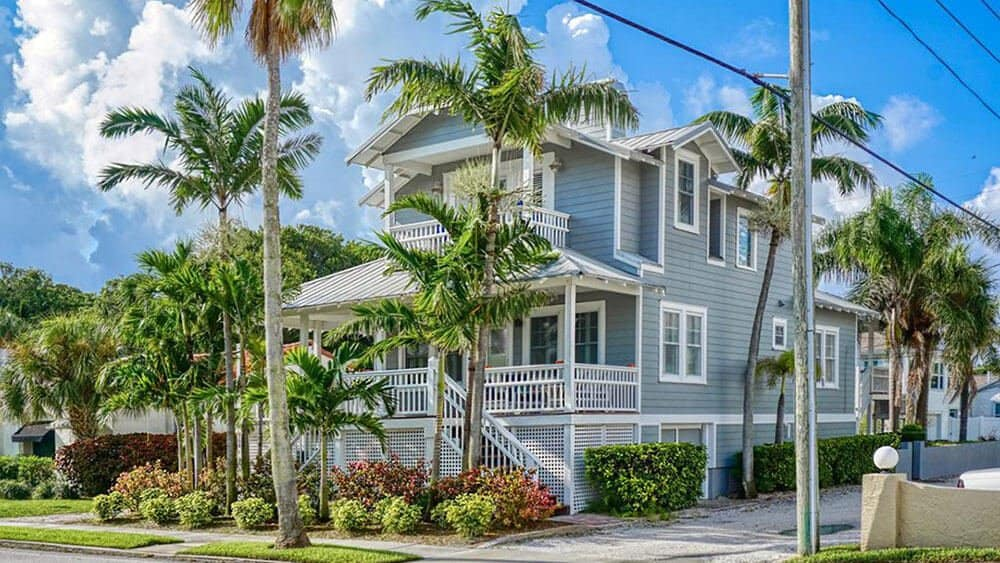 Key West Style Beachtown Estate