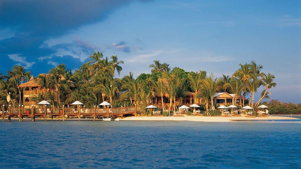 Little Palm Island Resort beach in Key West