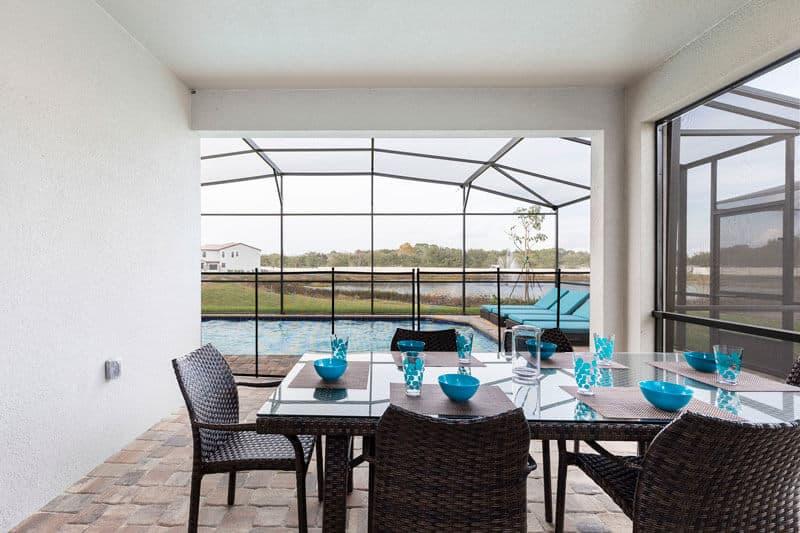 Lanai Pool Fence Florida Villa