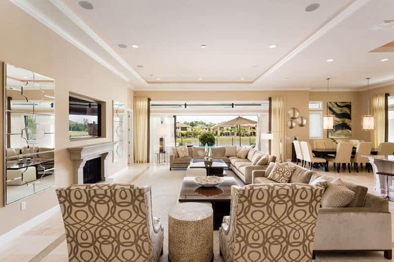 Living Room 1 Florida Villa