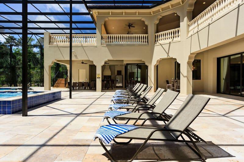 Pool Deck Florida Villa