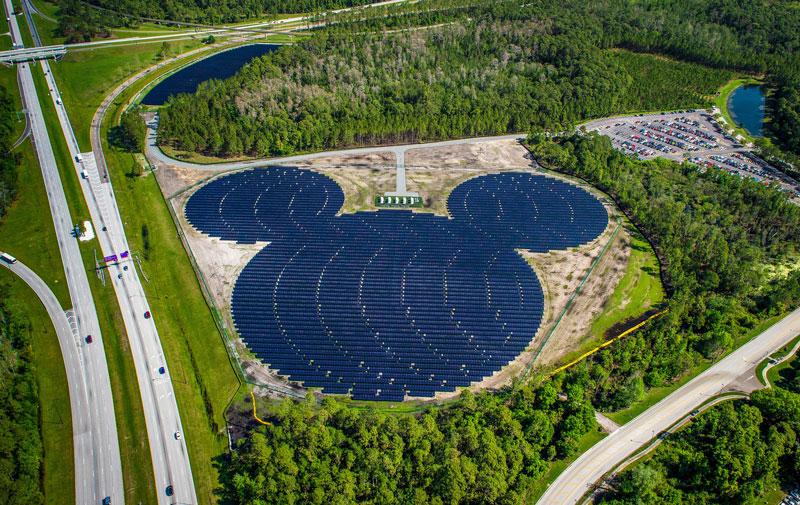 Disney solar power Green Monday