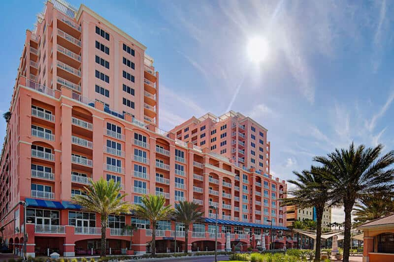 Hyatt Regency Clearwater Beach pink monday
