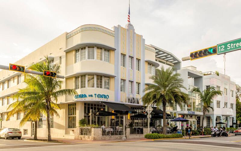 Marlin Hotel Miami yellow monday