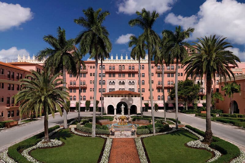 boca raton resort pink monday