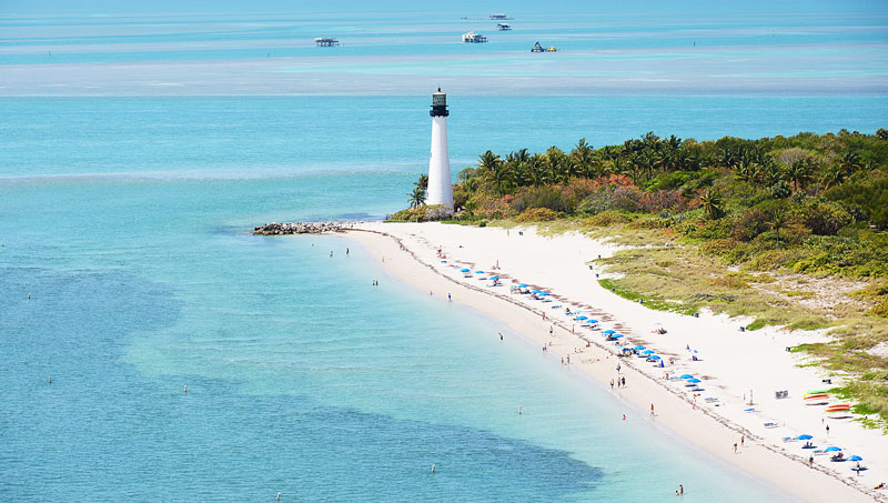 SOUTH Cape Florida Bill Baggs State Park Florida Is Back in Business!